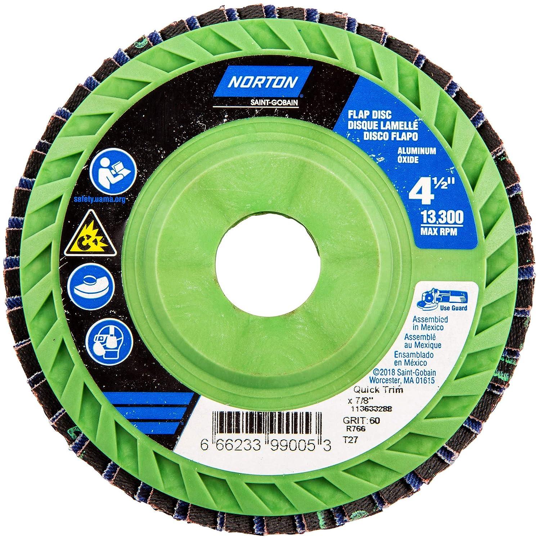 4 1//2 in x 60 Grit 7//8 Flap Disc