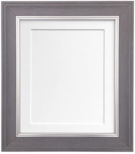 FRAMES BY POST Scandi Slate Grey Photo Picture Poster Frame with ...
