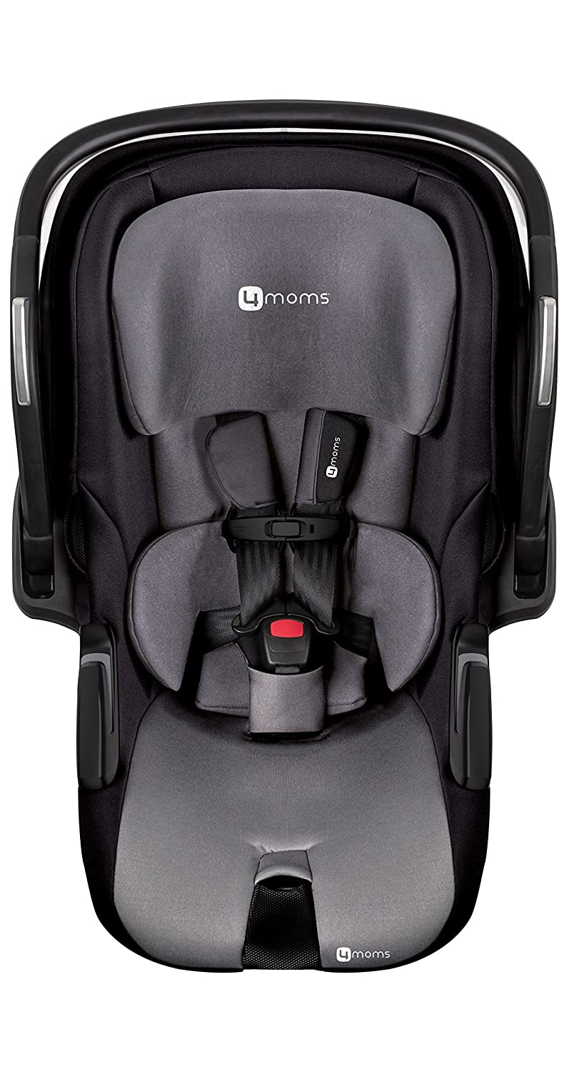 Amazon.com : 4moms Self-Installing Car Seat, Black : Baby