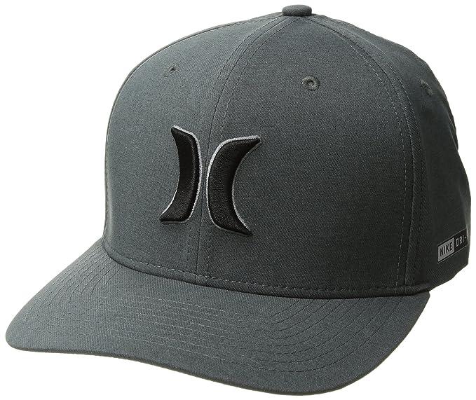 Hurley Gorra Drifit Heather Hats In Black - Gris - L XL  Amazon.com ... 2ef63b4c37e