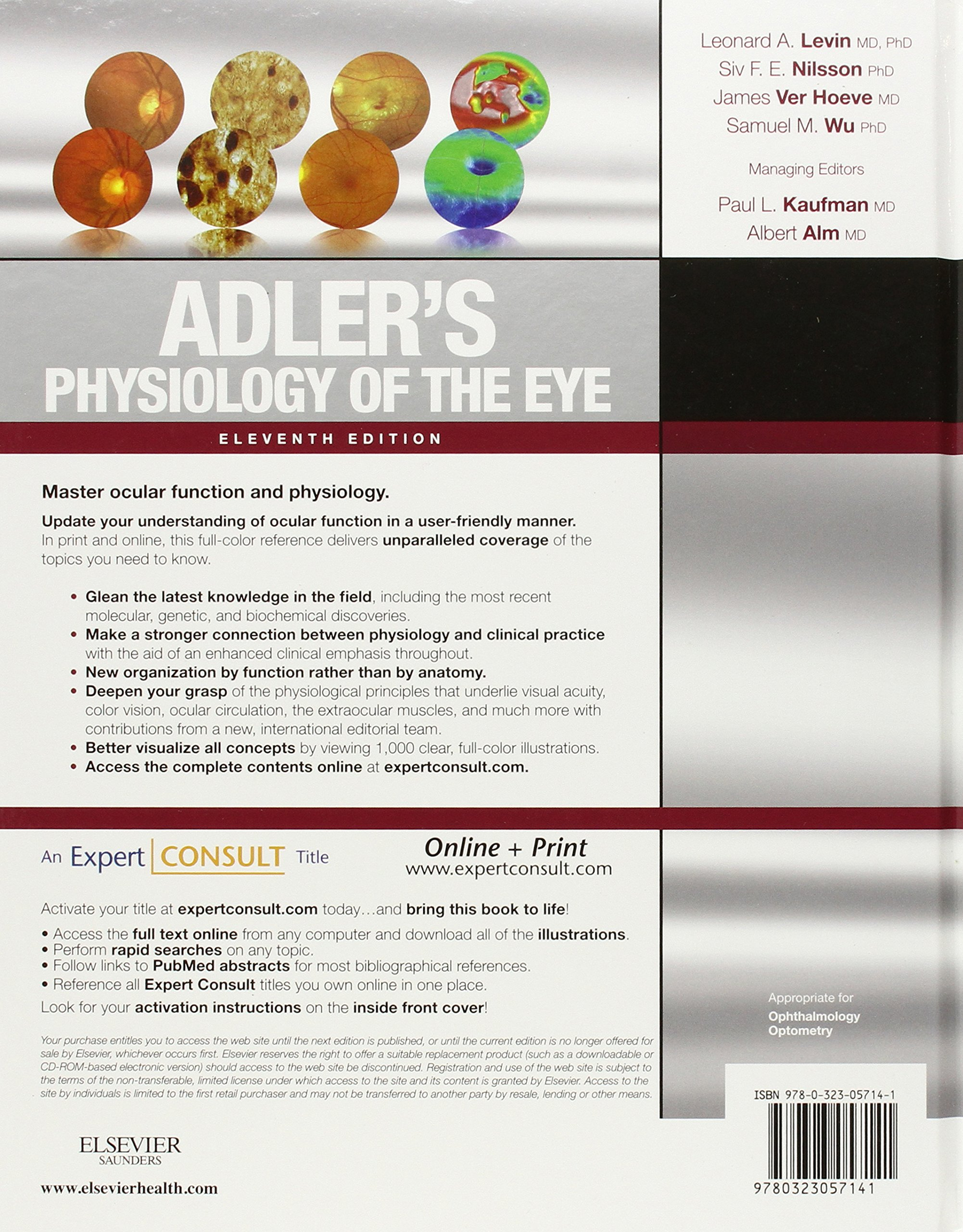 Buy Adler\'s Physiology of the Eye: Expert Consult - Online and Print ...