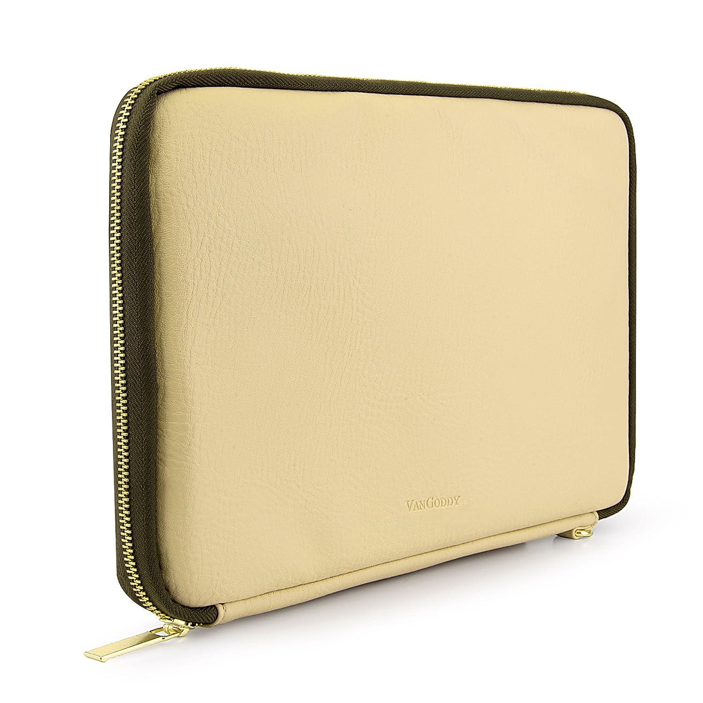 VanGoddy Irista保護用タブレット携帯スリーブSuitable for Acer Iconia One 10 /タブ10 / Aspire Switch 10 , 10 e / 10.6インチまで M ベージュ EHRDYLEA596_LU.01  Tan Olive B01AJ21E26