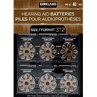 Kirkland Signature Hearing Aid Batteries Zinc Air 48 Pack, Size 312