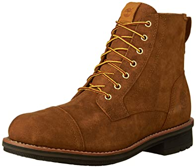 Timberland Men's Westbank 6 Inch Boot, Wheat Smooth,