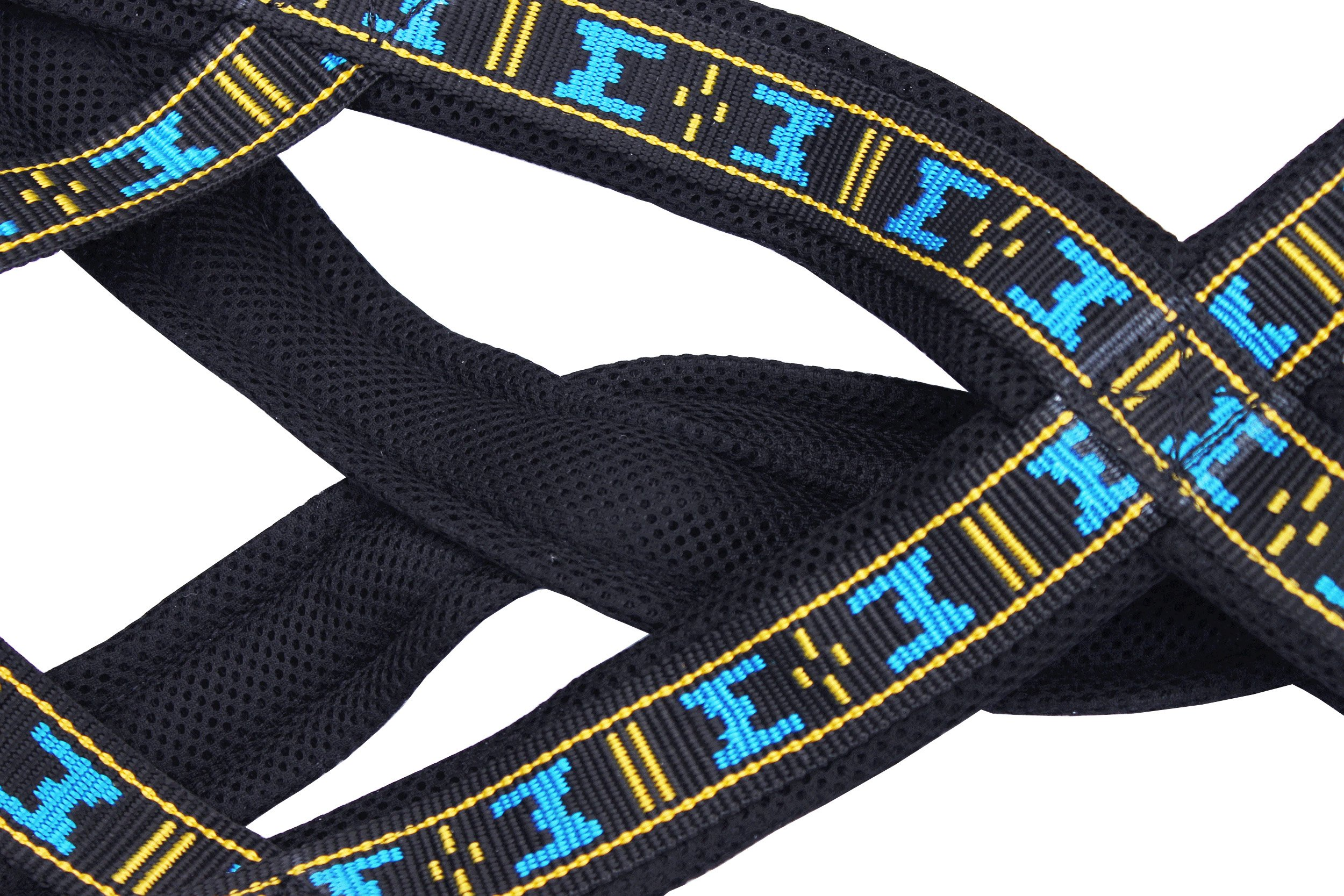 Weight Pulling Sledding Dog Harness X-Back Style Black Small, 18'' Neck Circumference by Dogs My Love (Image #3)