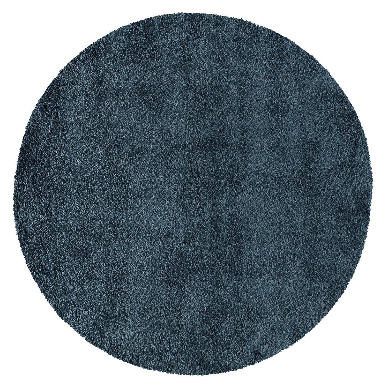 Nourison MSG01 Malibu Shag Area Rug, 7'10'' XROUND, BLUE by Nourison (Image #2)