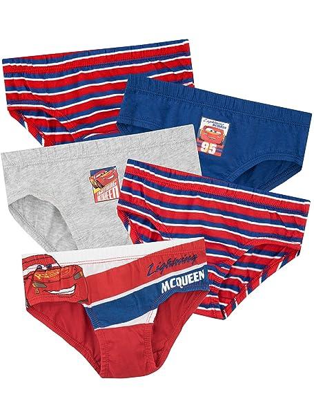 35b0e96493 Disney Boys Cars Underwear Pack of 5  Amazon.co.uk  Clothing