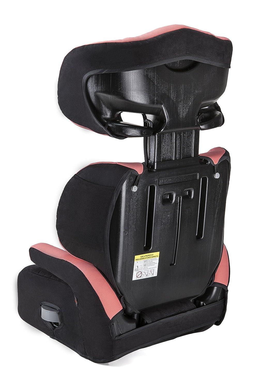 Piku 6228 3-12 Jahre Gruppe 2//3 15-36 kg Farbe rosa// schwarz Autositz