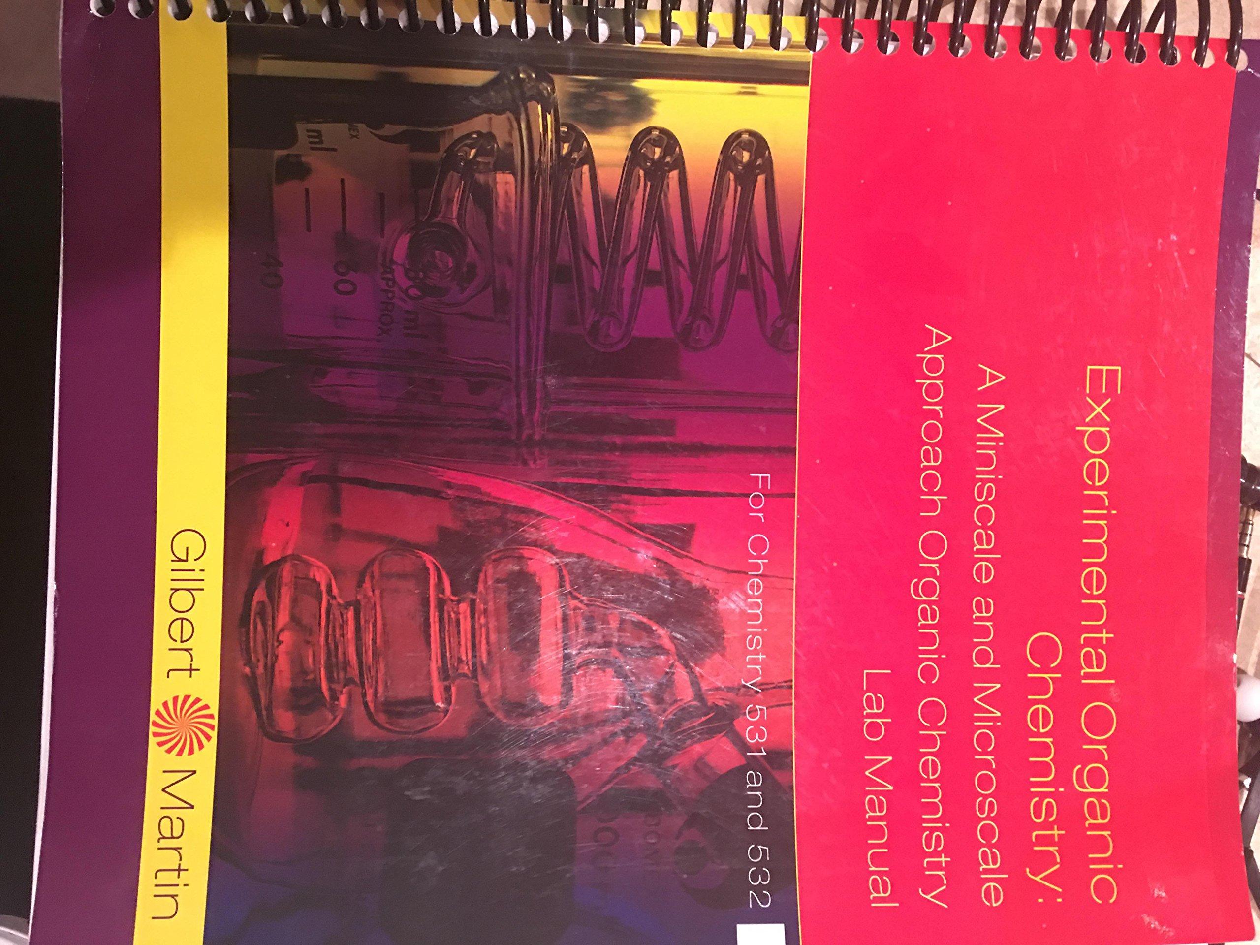 ACP EXPERIMENTAL ORGANIC CHEMISTRY : A MINISCALE AND MICROSC: John C  Gilbert, Stephen F Martin: 9781305306523: Amazon.com: Books