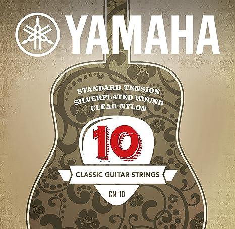 Yamaha CN10 - Juego de cuerdas para guitarra clásica: Amazon.es ...