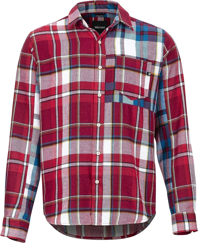 Marmot Asheville Midwt Flannel LS - Camisa para Exteriores De Manga Larga, Camisa De Senderismo, con Protección UV, Transpirable Hombre: Amazon.es: Deportes y aire libre