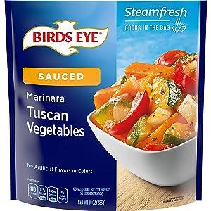 Birds Eye Steamfresh Marinara Tuscan Vegetables, Keto Friendly Frozen Vegetables, 10 OZ