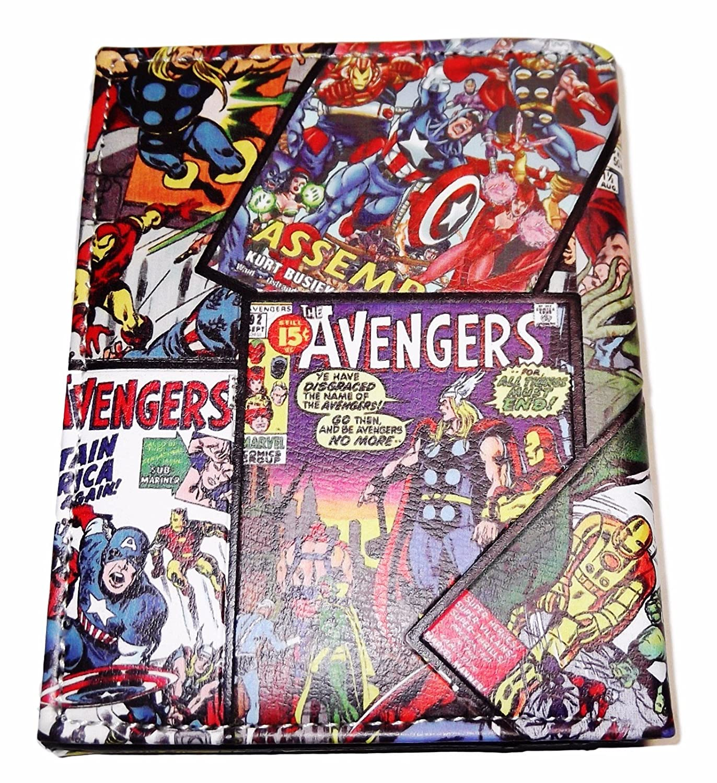 Marvel Comics Avengers Comic Covers Bi-Fold Wallet