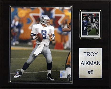 Image Unavailable. Image not available for. Color  NFL Troy Aikman Dallas  Cowboys Player Plaque 2ec87c7e4