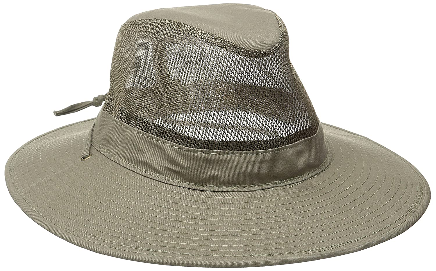 Dorfman Pacific DPC Outdoors Solarweave Treated Cotton Hat SPF4