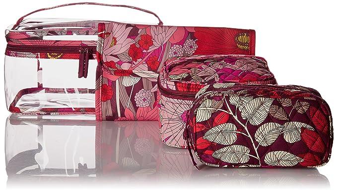 df55c58f911c Amazon.com  Vera Bradley Travel Cosmetic Set