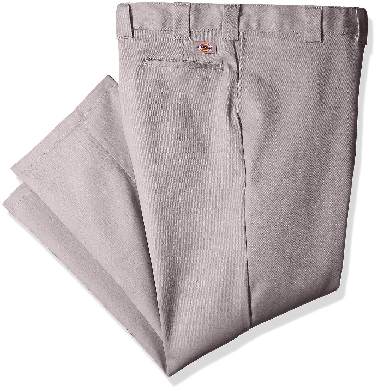 Dickies PANTS メンズ B06Y4XCP7L 50W x 30L|シルバー/グレー シルバー/グレー 50W x 30L