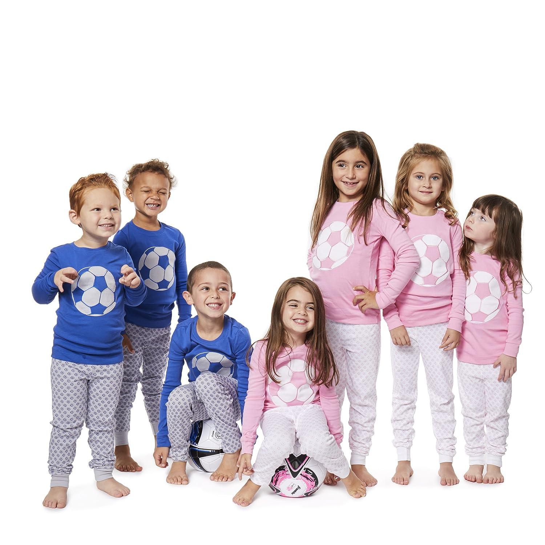Boys Pajamas SOCCER and BASKETBALL 2 Piece 100/% Super Soft Cotton by Bluenido 12m-8y