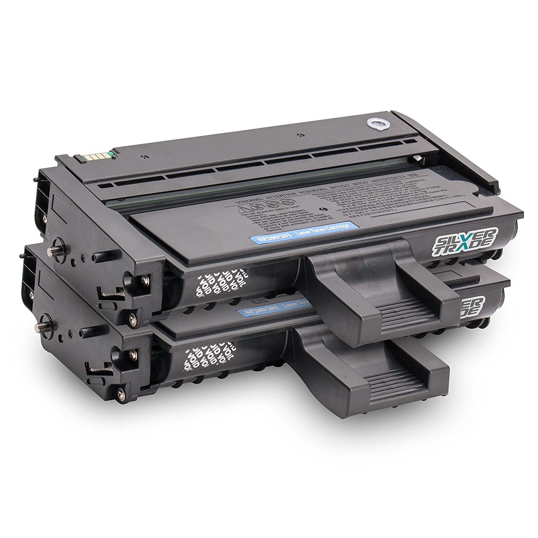 2x Toner compatible para Ricoh Type SP200 / SP201 negro: Amazon.es ...