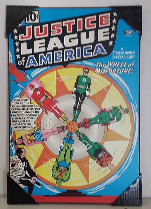 La Liga de la justicia de América Marvel Comics Cuadro ...