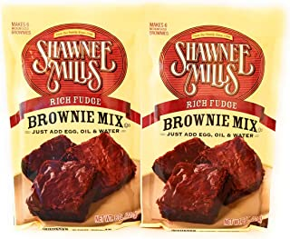 product image for Shawnee Mills Rich Fudge Brownie Mix - 2 Pack