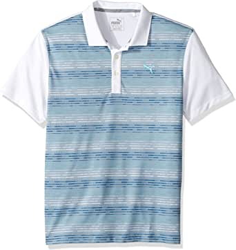 PUMA Golf 2017 Boy's Road Map Polo
