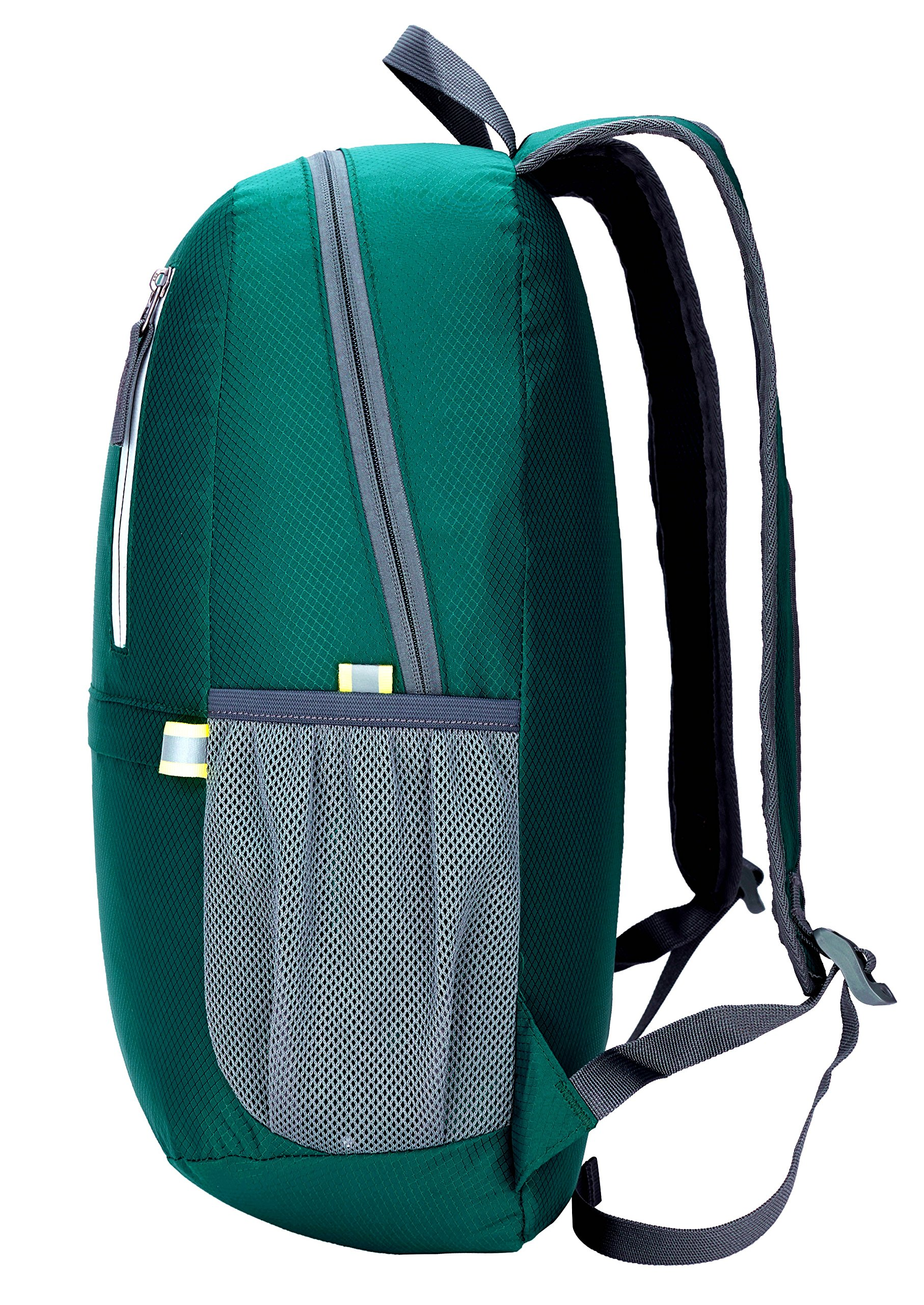 Venture Pal 25L Travel Backpack - Durable Packable Lightweight Small Backpack Women Men (Green) … by Venture Pal (Image #4)