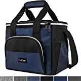 OPUX Insulated Collapsible Soft Cooler 9 Quart | Lunch Bag for Men, Small Travel Cooler for Camping, Family, BBQ, Picnic…