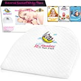 Bassinet Wedge Pillow for Baby Reflux /& Bonus Beanie Hat 12-Degree Incline for Congestion /& Colic Relief Baby Wedge with 100/% Cotton /& Waterproof Cover InfaGear