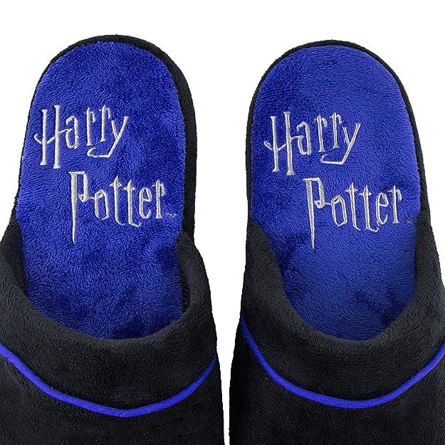 db820b70b Amazon.com | Cinereplicas Harry Potter Slippers - Cuff Clog - Pillow Walk -  Premium Durable Quality - Adults (Dark Arts Kawaii M/L) | Slippers