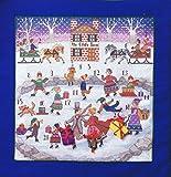 Advent Kalender Weihnachten Kreuzstich Diagramm Muster von Anchor