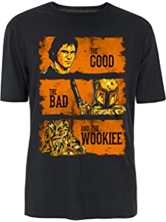 8f2cb62ddc The Good The Bad And The Wookie Starwars Parody T-Shirt - Multiple Colours (