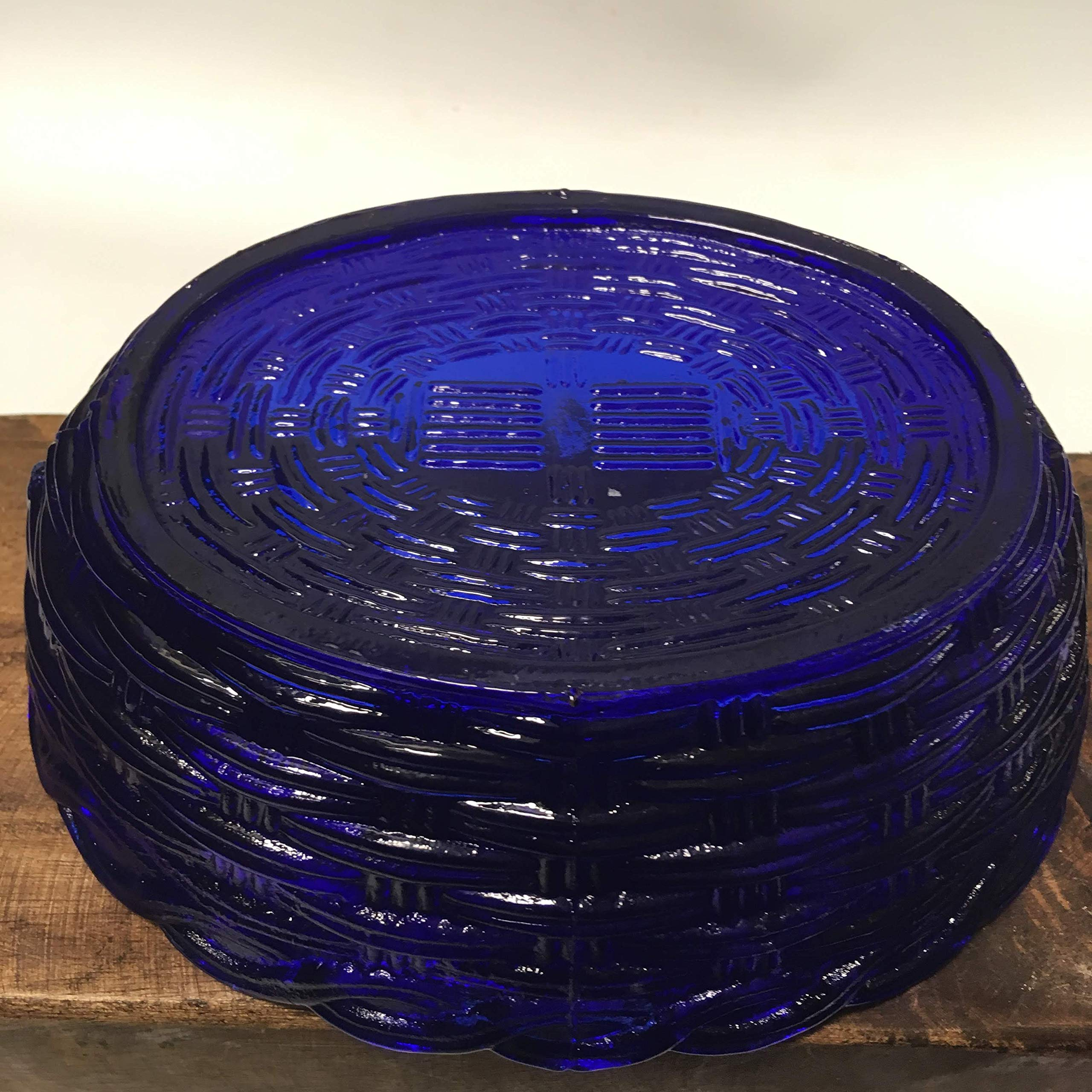 Large 9'' Cobalt Blue Glass HEN ON HER NEST Candy Dish - Multi Purpose Bowl by Generic (Image #4)