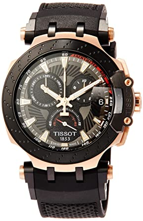 174e9d565ef Tissot T-RACE MOTOGP 2018 LTD. 8.888pcs. T115.417.37.061.00 Mens  Chronograph  Amazon.co.uk  Watches