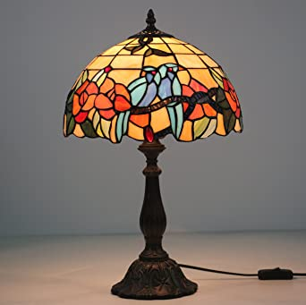 12 QuotPaar Vogel Antike Tiffany Lampe