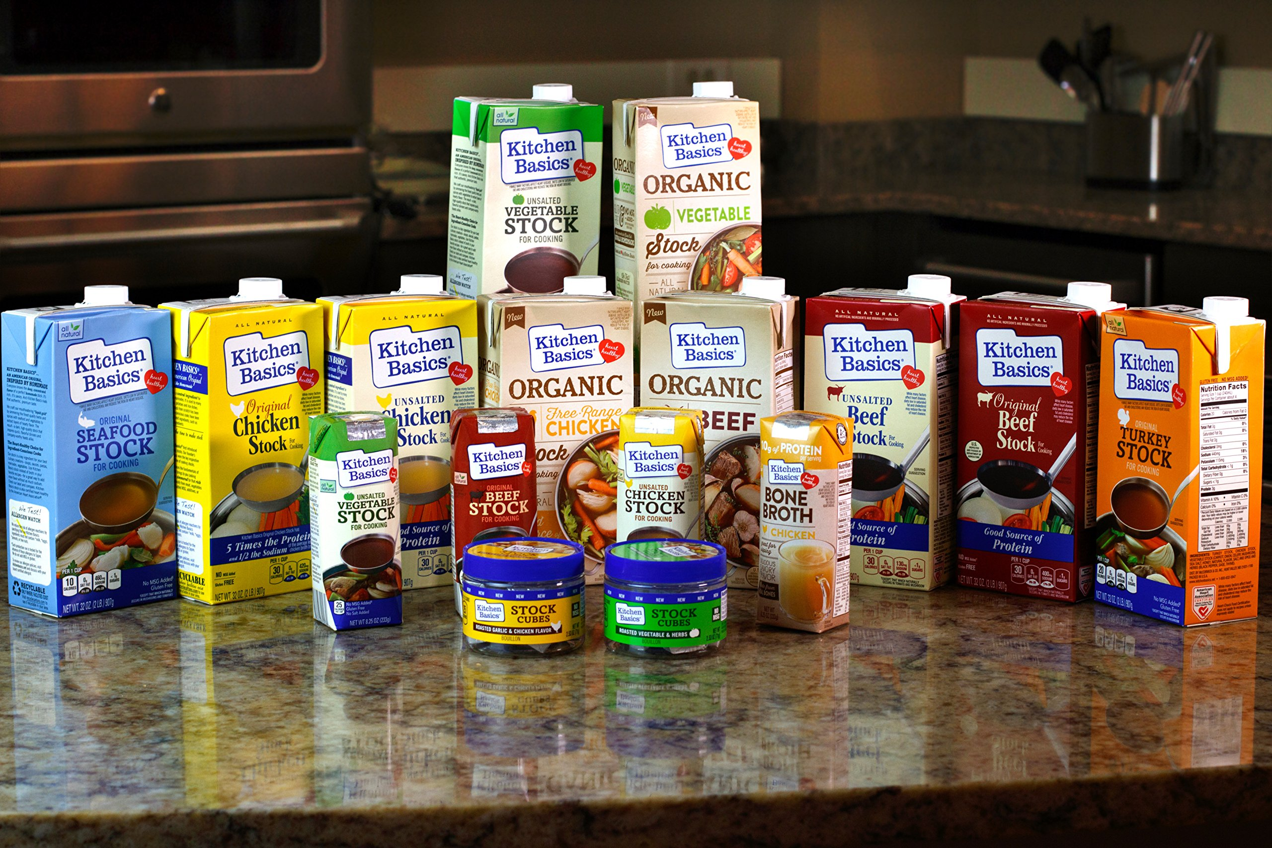 Kitchen Basics All Natural Unsalted Beef Stock, 32 fl oz by Kitchen Basics (Image #12)