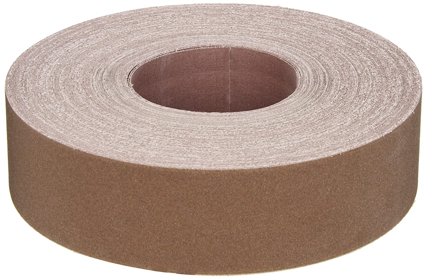 Norton K225 Metalite Abrasive Roll Grit P180 Pack of 5 Cloth Backing Aluminum Oxide 2 Width x 50yd Length