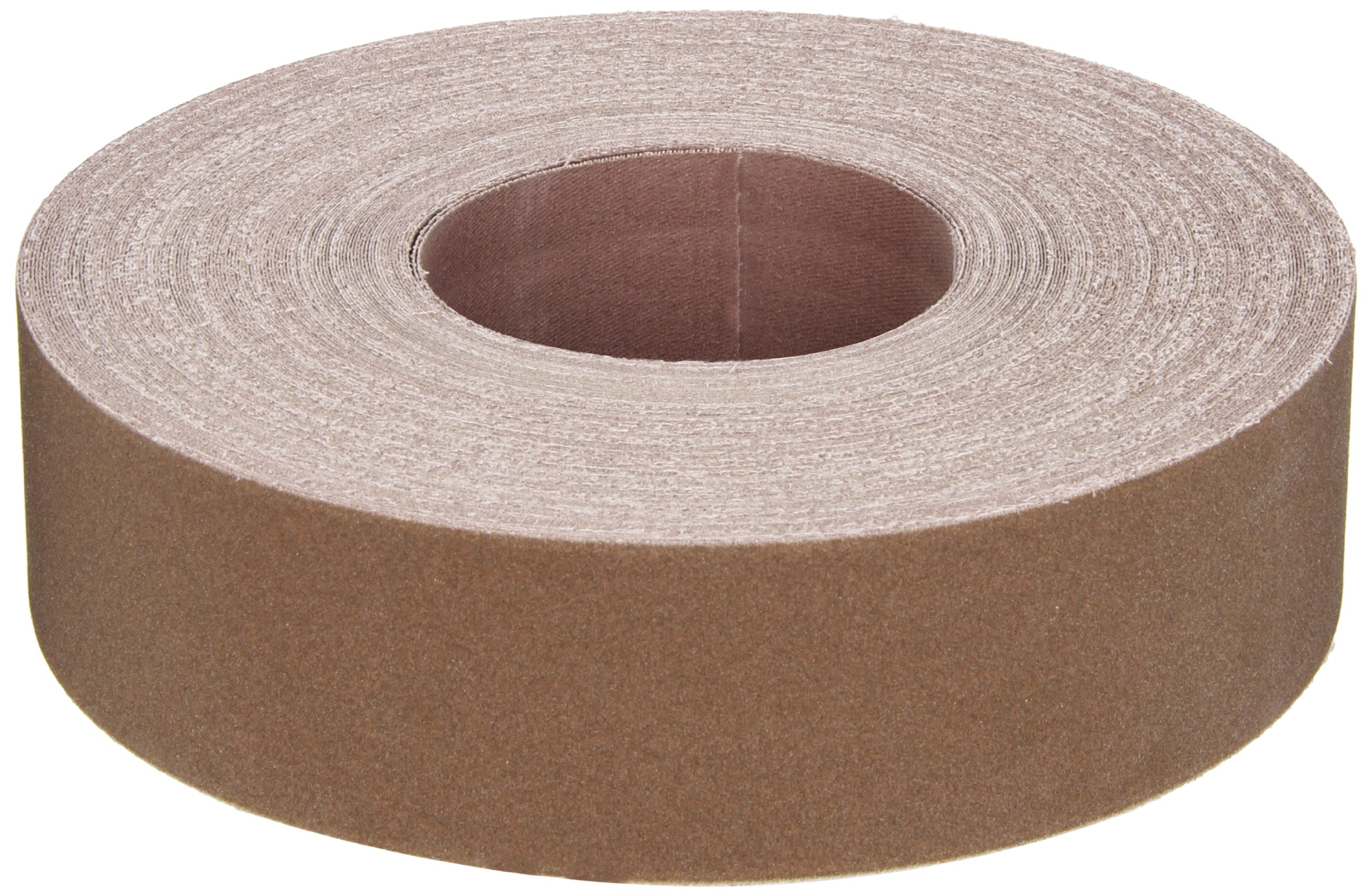 Norton K225 Metalite Abrasive Roll, Cloth Backing, Aluminum Oxide, 2'' Width x 50yd Length, Grit P180 (Pack of 5) by Norton Abrasives - St. Gobain