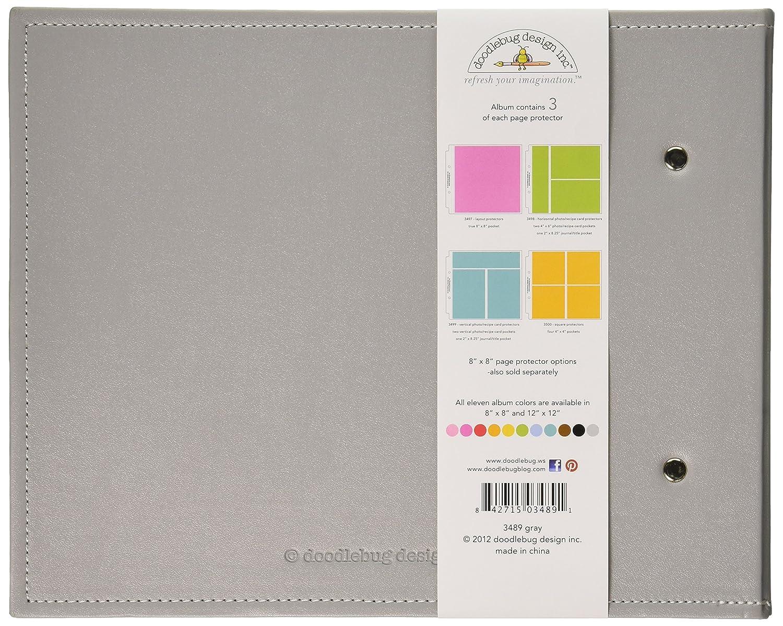 Doodlebug 2726 Design Limeade Storybook for Scrapbooking Album 12x12-Inch
