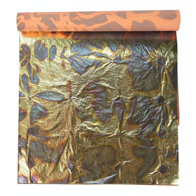 14 X 14cm 25 Blätter in Blattsammlung Barnabas Echtes Blattkupfer