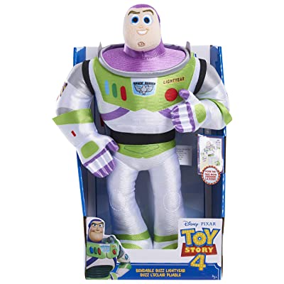 Disney•Pixar's Toy Story 4 Bendable Plush -Buzz Lightyear: Toys & Games