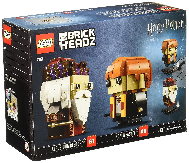 Limited Edition LEGO 41621 BrickHeadz Ron Weasley & Albus Dumbledore Building Kit 245 Piece