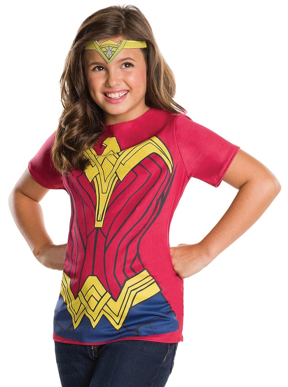 Dawn of Justice Wonder Woman Child Top and Tiara Medium BuyCostumes 620619/_M Rubies Batman v Superman
