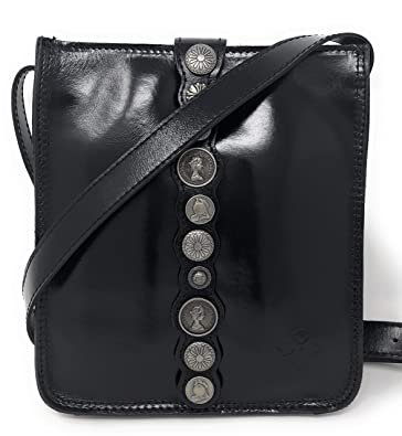 aafc93af8cb0 Patricia Nash Women s Venezia Crossbody Black One Size  Handbags ...