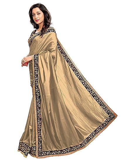 STELLACOUTURE Indian Sari Fashion Womens Banarasi Saree with Unstitch Blouse Piece 2