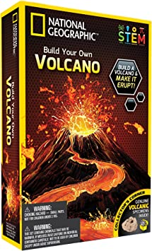 National Geographic 80479 - Kit de volcán para Construir: Amazon.es: Juguetes y juegos
