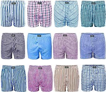L&K Bóxer para Hombre Pack de 6/12, American Style 1403