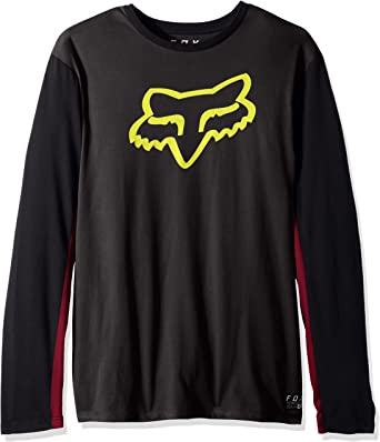 Fox Tracker LS Airline tee - Camiseta para Hombre: Fox: Amazon.es: Coche y moto