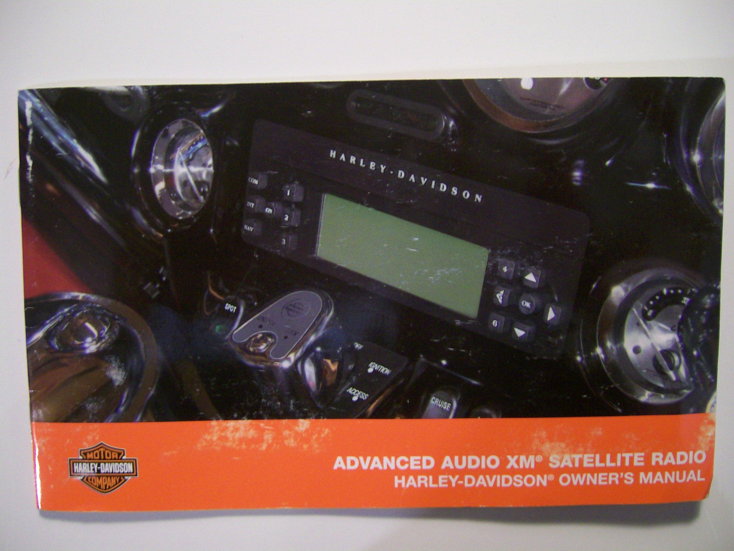 harley davidson radio manual