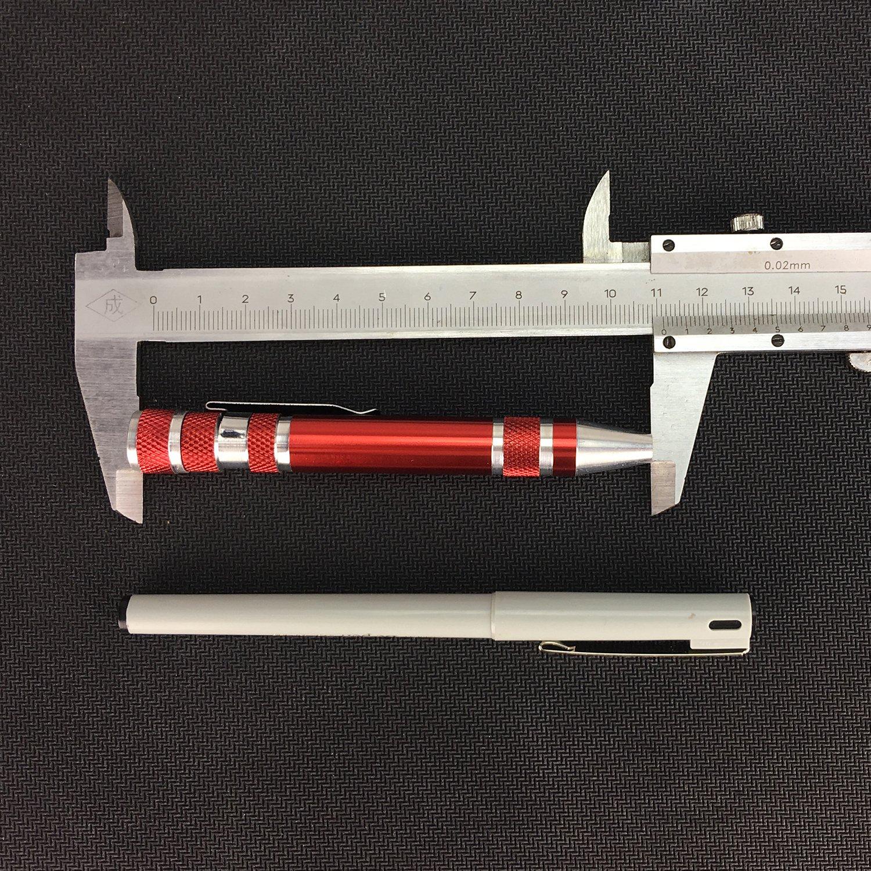 Swatom 8 in 1 Mini Gadgets Repair Tools Pen Style Precision Screwdriver Set Kit Home Improvement Blue